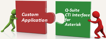 Integrate Custom Applications with Q-Suite CTI Interfaces for Asterisk